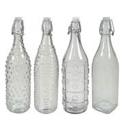 Garrafa de vidro 1 litro