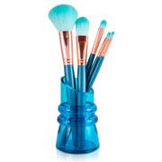 Kit de Pincéis para Maquiagem com Suporte colors