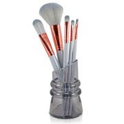 Kit de Pincéis colors para Maquiagem com Suporte