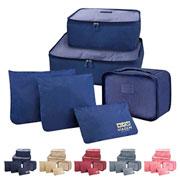Kit organizador de malas colors 06 peças