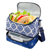 Bolsa térmica com 02 compartimentos fitness