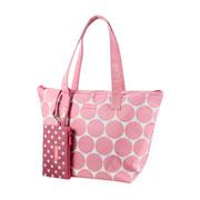 Kit bolsa com niqueleira dots colors 02 peças