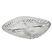 Petisqueira de vidro Santa 25 cm