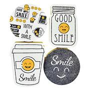 Conjunto de esponjas para louça Smile 04 peças
