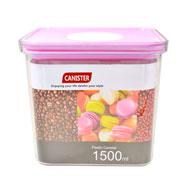 Porta mantimento retangular canister colors 1.500 ml
