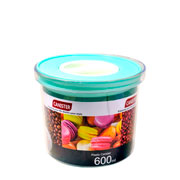Porta mantimento redondo canister colors 600 ml