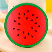 Kit de suporte para copos de silicone frutas 04 peças