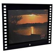 Porta retrato de vidro filme horizontal 20x15 cm