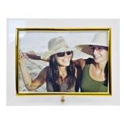 Porta retrato vidro liso horizontal 18x13 cm