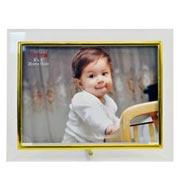 Porta retrato de vidro lizo horizontal 20x15 cm