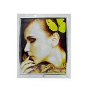 Porta retrato de vidro reto 20x25 cm