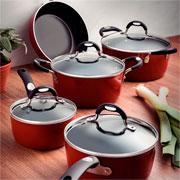 Jogo de panela Monaco vermelha 05 peças - Tramontina
