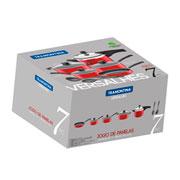 Jogo de panelas aluminio versalhes vermelho 07 peças - Tramontina