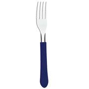 Talher de inox Leme azul Garfo/Faca/Colher (Unitário) -Tramontina