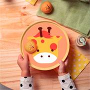 Prato infantil baby friends girafa 20 cm - Tramontina