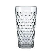 Jogo de copos de vidro marrocos 350 ml 06 peças