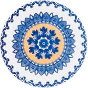 Prato de sobremesa de porcelana LA Carreta 20 cm