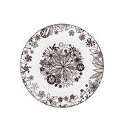 Prato de sobremesa de porcelana Floresta Negra 21 cm