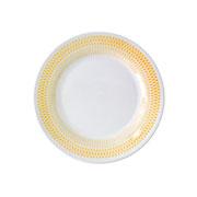 Prato de sobremesa de porcelana Trico acacia 19 cm