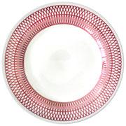 Prato raso de porcelana Trico violeta 24 cm