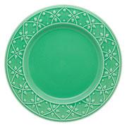Prato raso de porcelana Relevo Salvia 26 cm