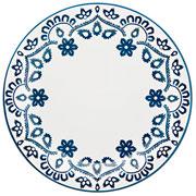 Prato de sobremesa de porcelana Energy 20 cm
