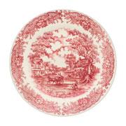 Prato raso de porcelana vilarejo 24 cm