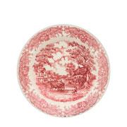 Prato de porcelana fundo vilarejo 22 cm