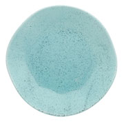 Prato de porcelana raso blue bay 27 cm