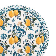 Prato raso de porcelana Siciliano 26 cm