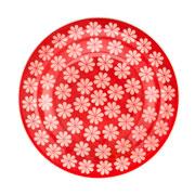 Prato fundo de porcelana Renda 23 cm