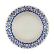 Prato de porcelana fundo Grecia 22 cm