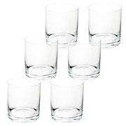 Jogo de copos para whisky barware 410 ml 06 peças