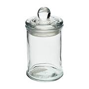 Porta Mantimento de vidro redondo liso 600 ml