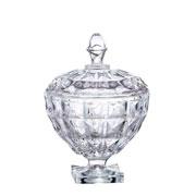 Bomboniere em cristal Aquamarine 14 cm