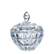 Bomboniere em cristal Aquamarine 19,5 cm