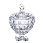 Bomboniere em cristal Aquamarine 24 cm