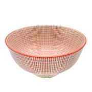 Bowl de porcelana Mix vermelho 12,5 cm