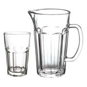 Jogo para refresco com jarra dover e copos 300 ml 07 peças