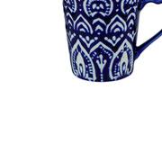 Caneca em porcelana azul escuro 235 ml