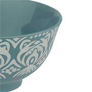 Bowl de porcelana cinza 12x06 cm