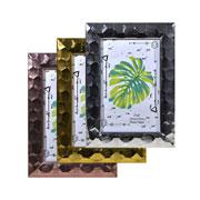 Porta retrato plástico colors 10x15 cm