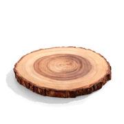 Tabua de Madeira Art Wood Multiuso 31x28x02 cm
