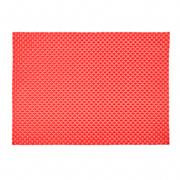 Lugar Americano Tramado premium vermelho 35x48cm