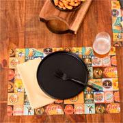 Lugar americano retangular flex beer 44x29 cm