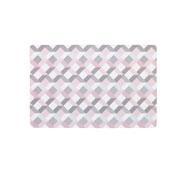 Lugar americano retangular flex candy 44x29 cm