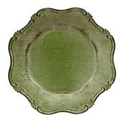 Sousplat Greco corinto abacate 33 cm