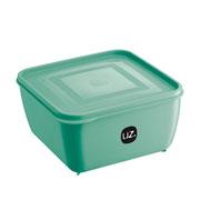 Pote multiuso quadrado verde menta 2.5 litros