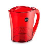 Jarra gold com filtro vermelho translucido 3 litros