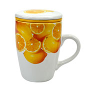 Caneca com Infusor Limão Siciliano 330 ml